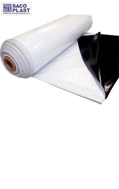 lona 8x50 silagem preta e branca